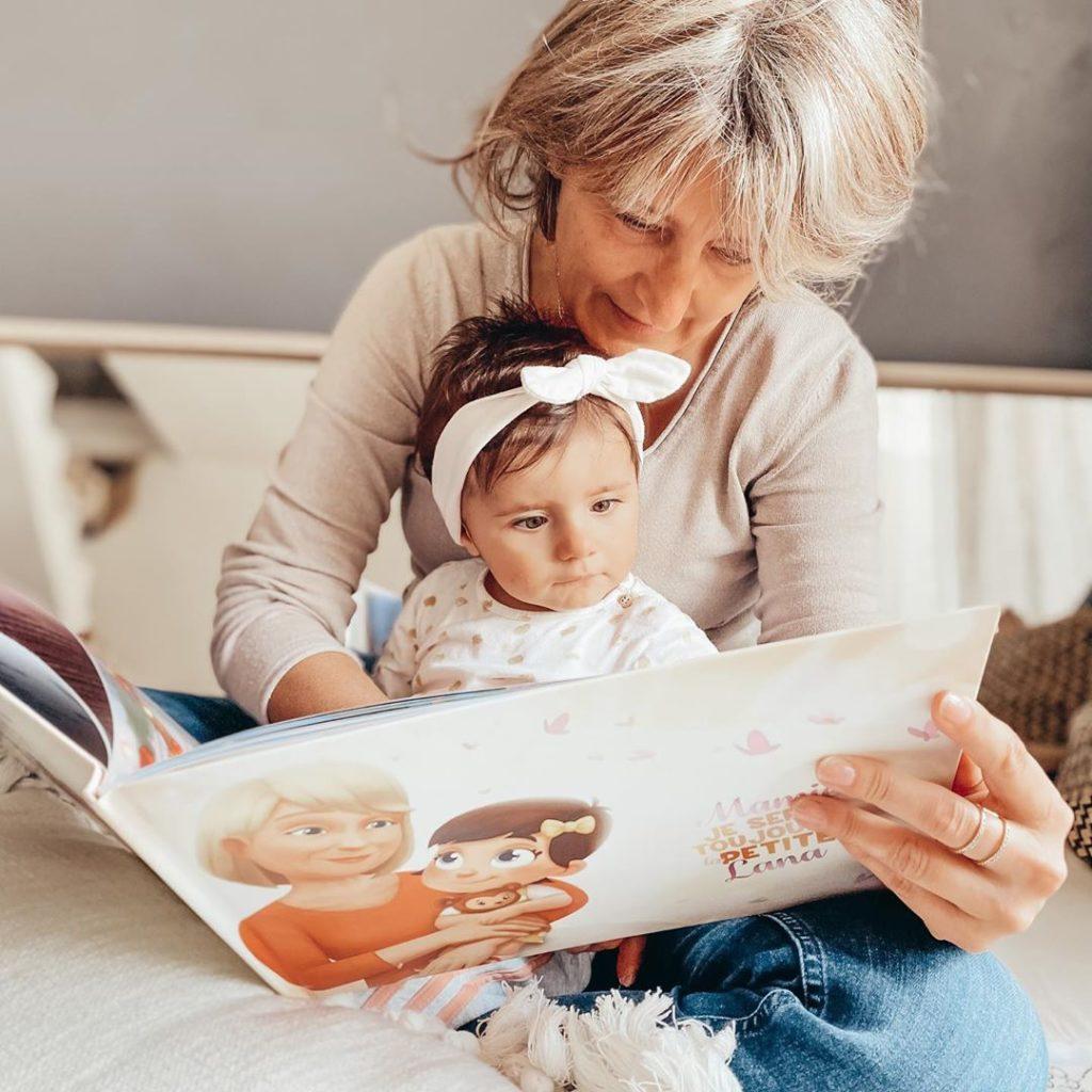 Livre pour la grand-mère
