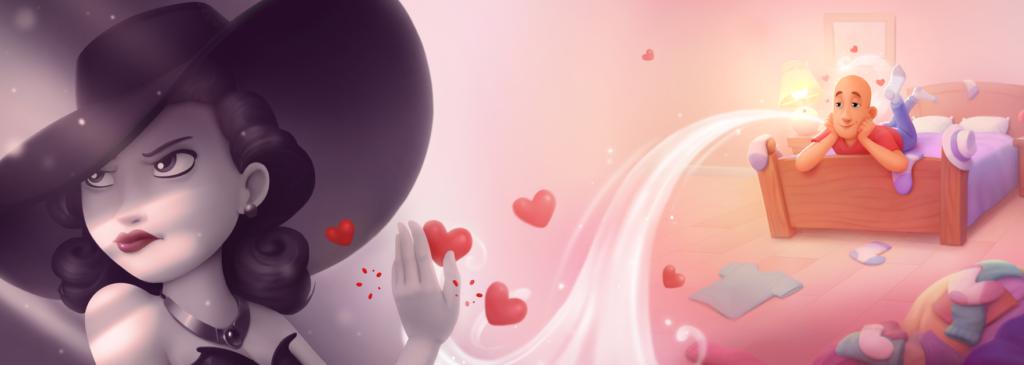 Dites « je t'aime » à la femme fatale de votre vie de manière spectaculaire pour la Saint-Valentin.